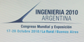 Award on 'Ingeniería 2010' (Argentina)